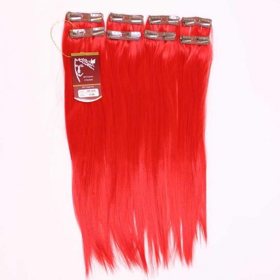 Kızıl Uzun Düz Sentetik 8′li Çıt Çıt Takım-YP075-113A