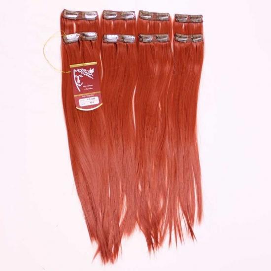 Kızıl Uzun Düz Sentetik 8′li Çıt Çıt Takım-YP075-130