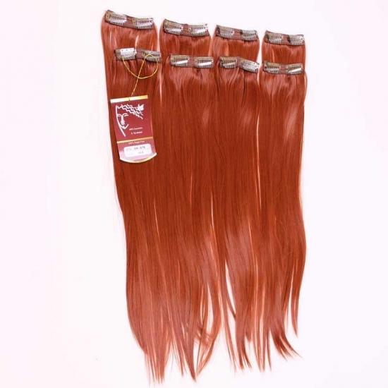Kızıl Uzun Düz Sentetik 8′li Çıt Çıt Takım-YP075-350