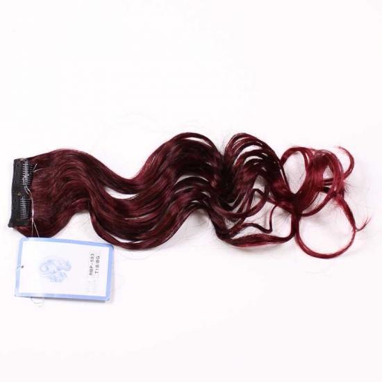 Siyah Kızıl Uzun Dalgalı Sentetik Çıt Çıt-RBP593-T1B.BG
