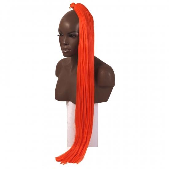 MISS HAIR K FIBER BRAID - ORANGE - Zenci Örgüsü Saçı, Afrika Örgüsü Malzemesi,Rasta,Topuz Saçı