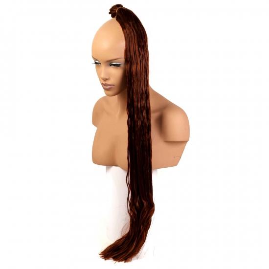 MISS HAIR K FIBER BRAID - 130 - Zenci Örgüsü Saçı, Afrika Örgüsü Malzemesi,Rasta,Topuz Saçı