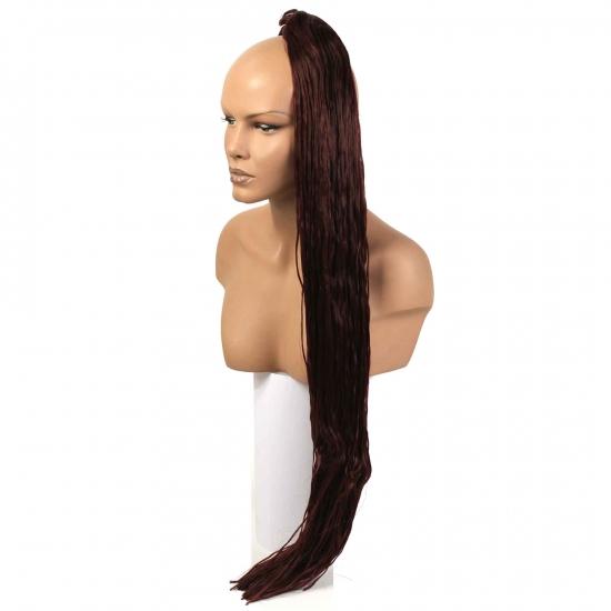 MISS HAIR K FIBER BRAID - 35 K - Zenci Örgüsü Saçı, Afrika Örgüsü Malzemesi,Rasta,Topuz Saçı