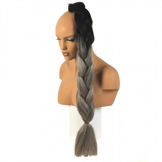 MISS HAIR BRAID - T1/0906 - Zenci Örgüsü Saçı, Afrika Örgüsü Malzemesi,Rasta,Topuz Saçı