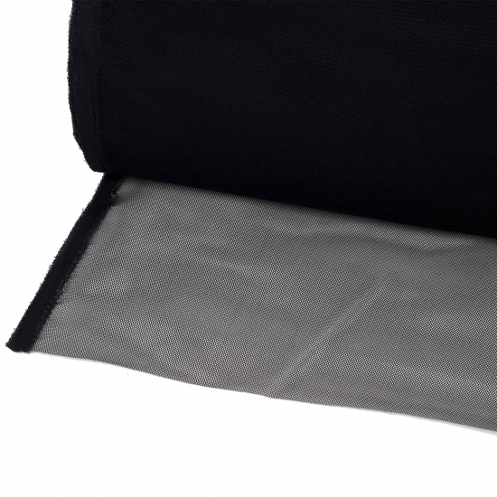 Tığlık Peruk Ve Postiş Filesi / Siyah Rengi / 1 Metre