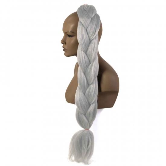 MISS HAIR BRAID - 1/7 - Zenci Örgüsü Saçı, Afrika Örgüsü Malzemesi,Rasta,Topuz Saçı