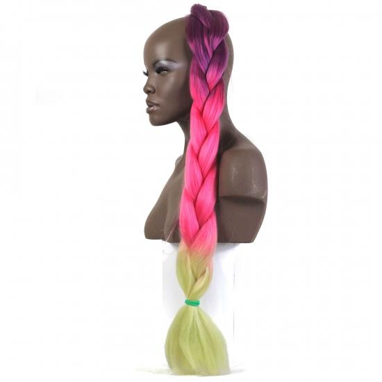 MISS HAIR BRAID - 3 / 31 - Zenci Örgüsü Saçı, Afrika Örgüsü Malzemesi,Rasta,Topuz Saçı