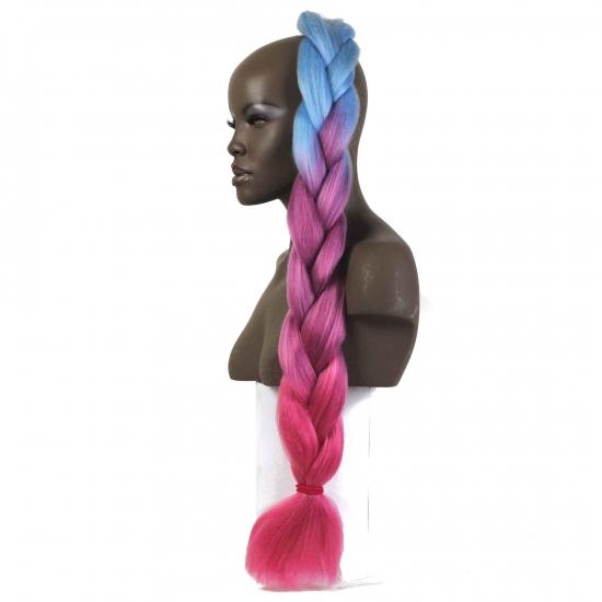 MISS HAIR BRAID - 3 / 36 - Zenci Örgüsü Saçı, Afrika Örgüsü Malzemesi,Rasta,Topuz Saçı