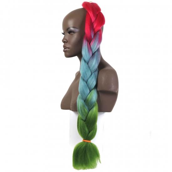 MISS HAIR BRAID - 3 / 40 - Zenci Örgüsü Saçı, Afrika Örgüsü Malzemesi,Rasta,Topuz Saçı