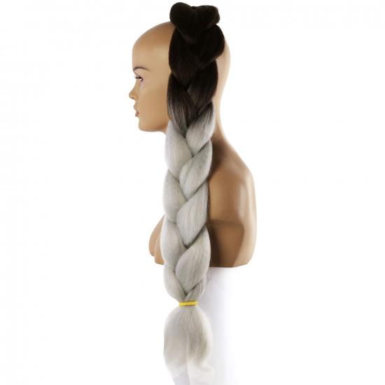 MISS HAIR BRAID - T4 / (1/8) - Zenci Örgüsü Saçı, Afrika Örgüsü Malzemesi,Rasta,Topuz Saçı