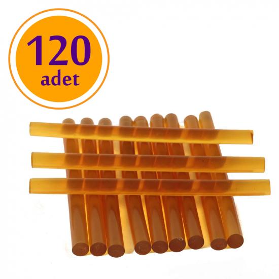 Keratin Çubuk /lı Ürün / Şeffaf Sarı (120 Adet)