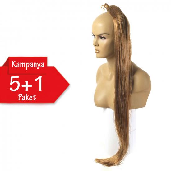 5 + 1 - MISS HAIR İ FIBER BRAID - 684 - Zenci Örgüsü Saçı, Afrika Örgüsü Malzemesi,Rasta,Topuz Saçı