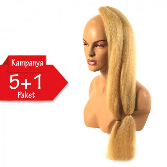 5 + 1 - ULTRA BRAİD - 24B - Zenci Örgüsü Saçı, Afrika Örgüsü Malzemesi,Rasta,Topuz Saçı