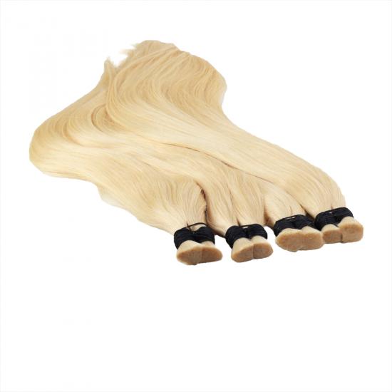 %100 Doğal İnsan Saçı / Platin Renk / Ham Saç / 100 Gr.