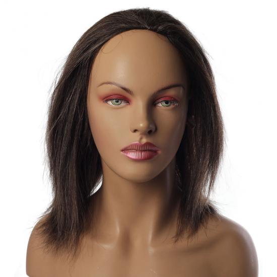 %100 Doğal Saç Kırçıllı Special - Yarım Peruk - Postiş