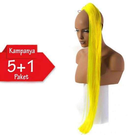 5 + 1 - MISS HAIR İ FIBER BRAID - 18 - Zenci Örgüsü Saçı, Afrika Örgüsü Malzemesi,Rasta,Topuz Saçı